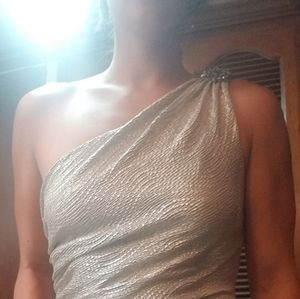 Maggy London SILVER dress